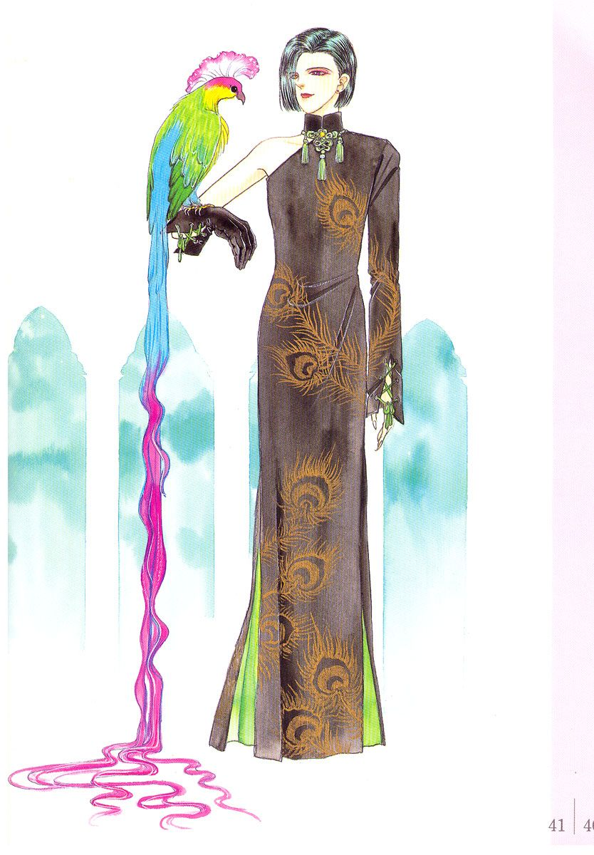 Count D of horrors Peacock dress variant