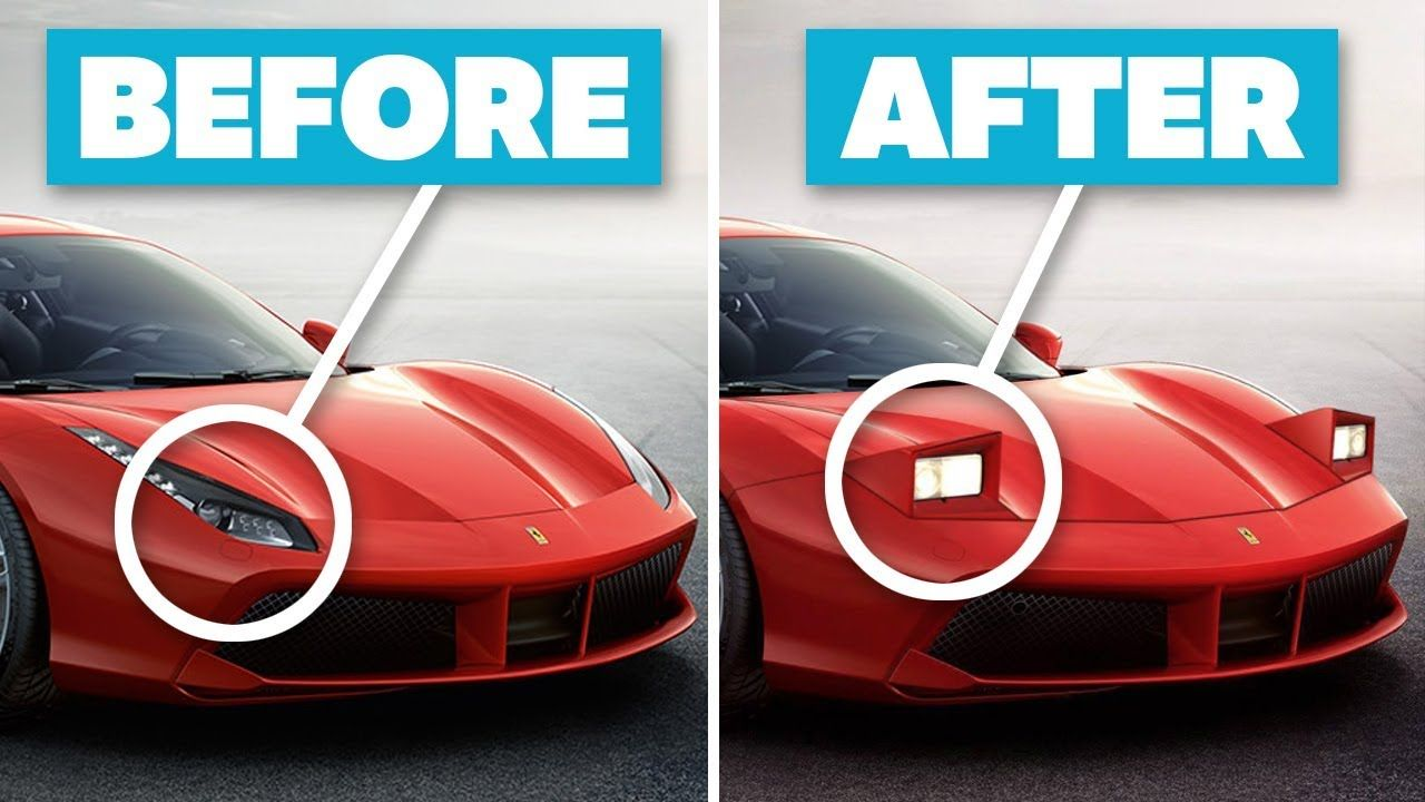 10 Modern Sports Cars Made Insanely Cool With Pop Up Headlights Sports Cars New Sports Cars Car Makes