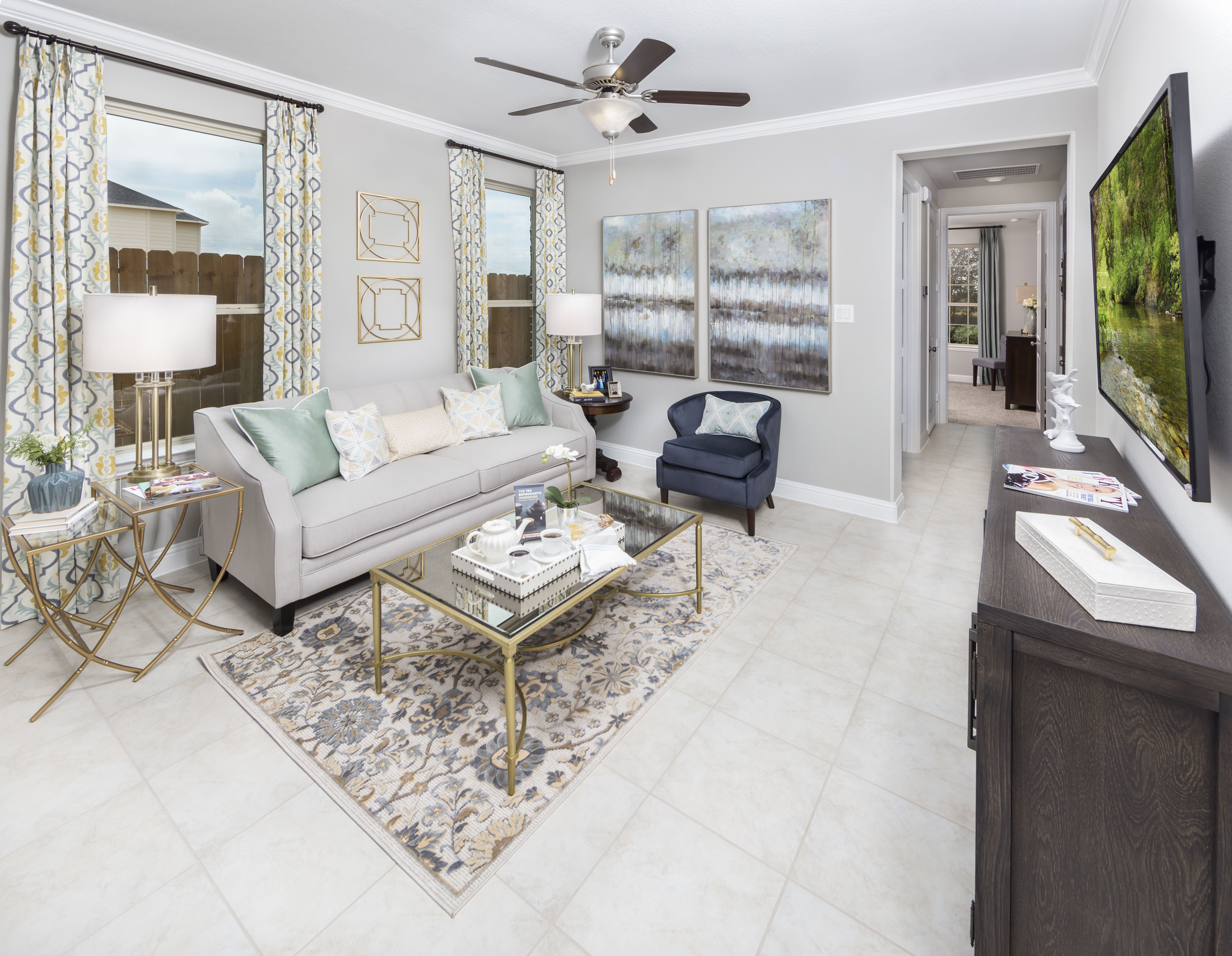 Cross Creek Ranch Icon Collection Louvre Next Gen Next Gen Suite Private Living Room New Home Communities Home Lennar