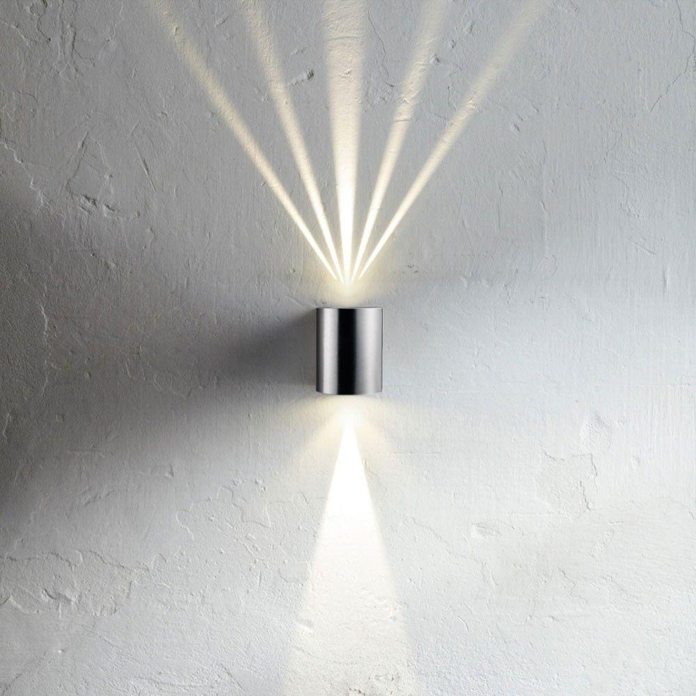 SKAPETZE   Baleno / LED Wandleuchte Upu0026Down Mit Lichtfilter / Edelstahl  Aussenleuchten Wandleuchten Aussen Good Ideas