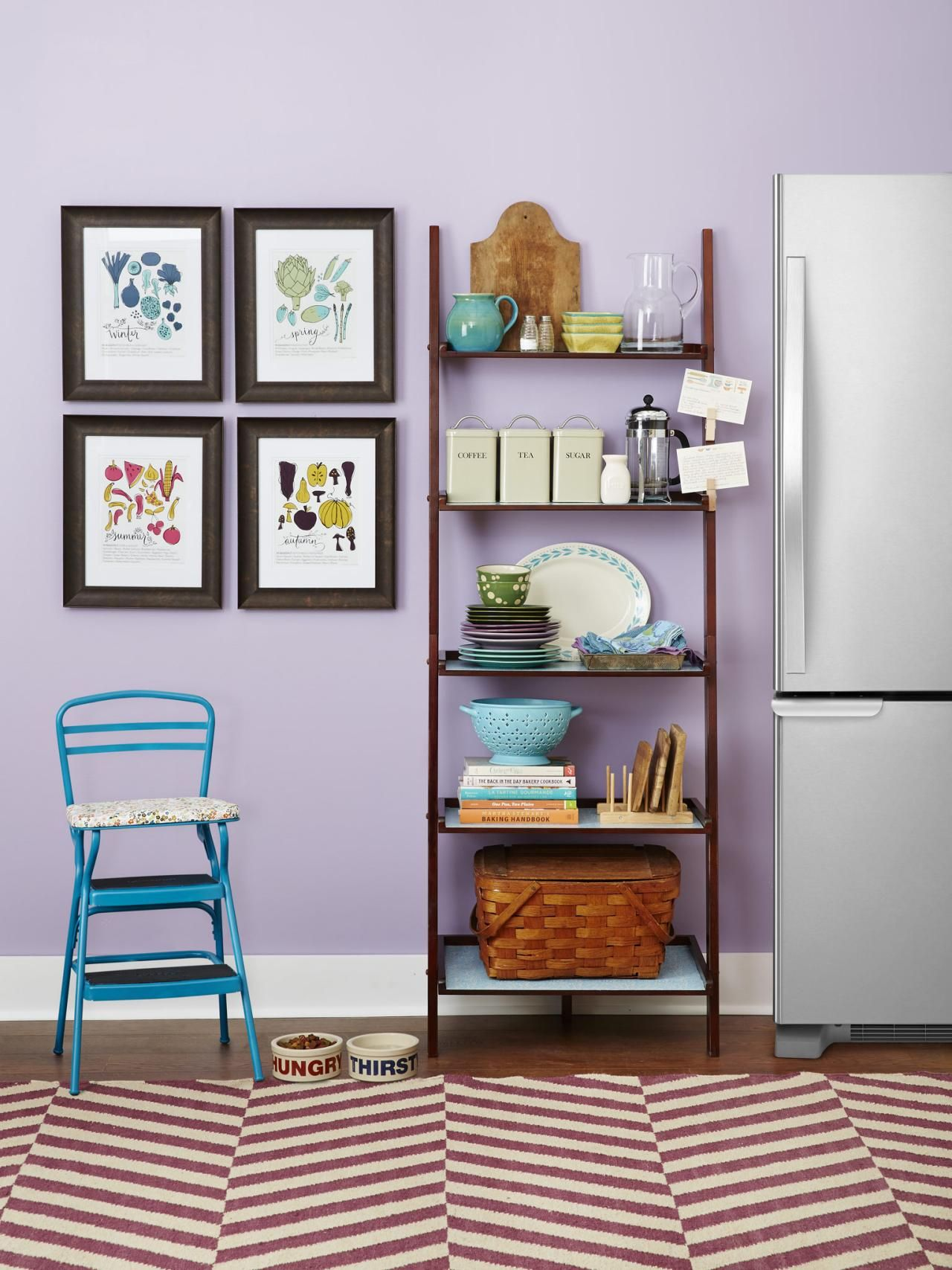5 Ways To Use A Ladder Shelf Decorating Home &