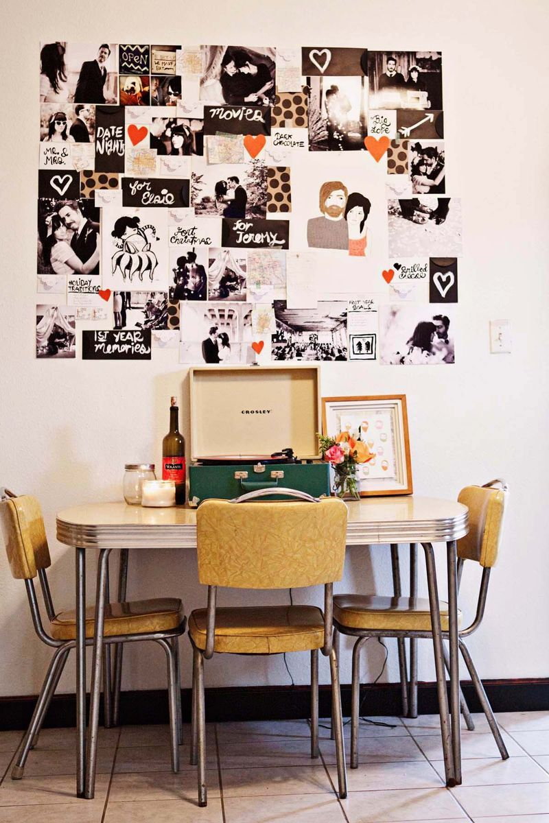 Pele Mele Photo Mural Kitchen Table This Is A Place Where I Don T Feel Alone This Is