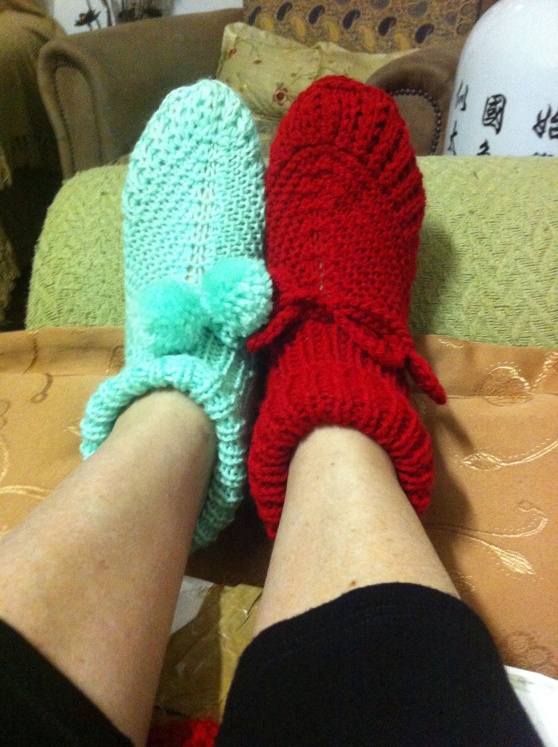 Knitted Bed Socks Made With Love Moorcroft Pinterest Bed Socks Crotchet And Crochet