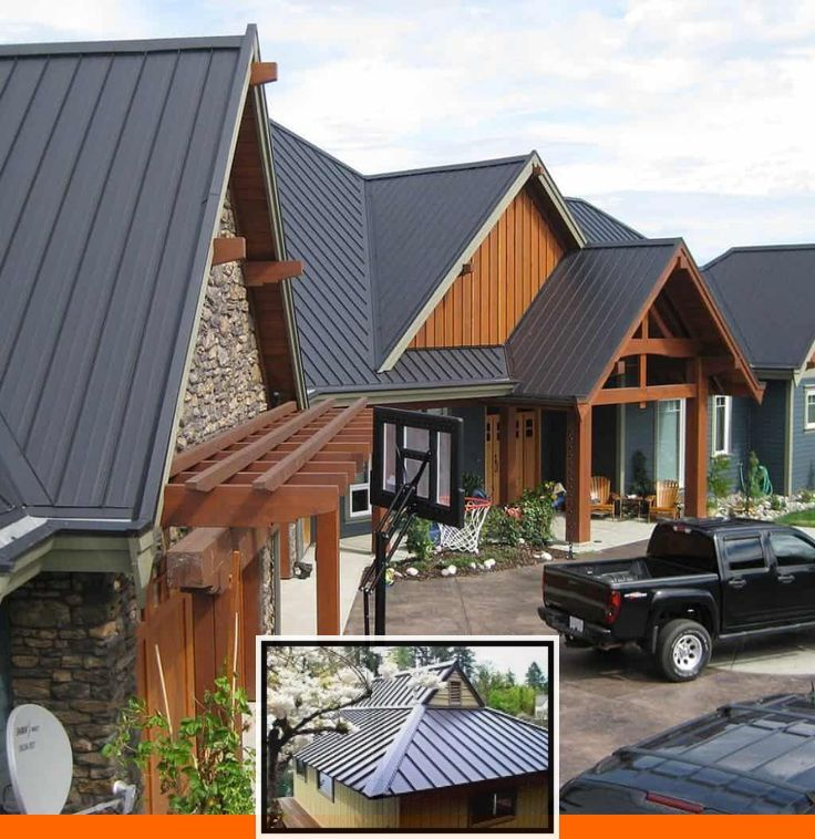 Metal roof and siding color simulator and metal roofing
