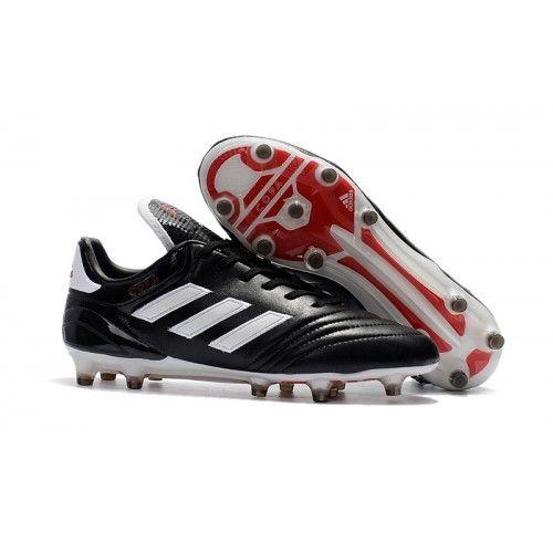 detailed look b4ee6 315b4 Adidas Copa 17-1 FG Botas De Futbol Negro Blanco Rojo