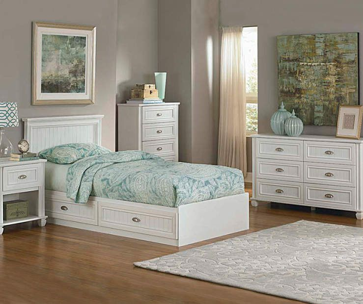 Best Ameriwood Twin Mates White Bedroom Collection Big Lots 640 x 480