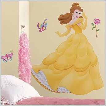 Details About DISNEY PRINCESS Wall Decals   20 STYLES TO CHOOSE FROM   Room  Decor Stickers Part 66