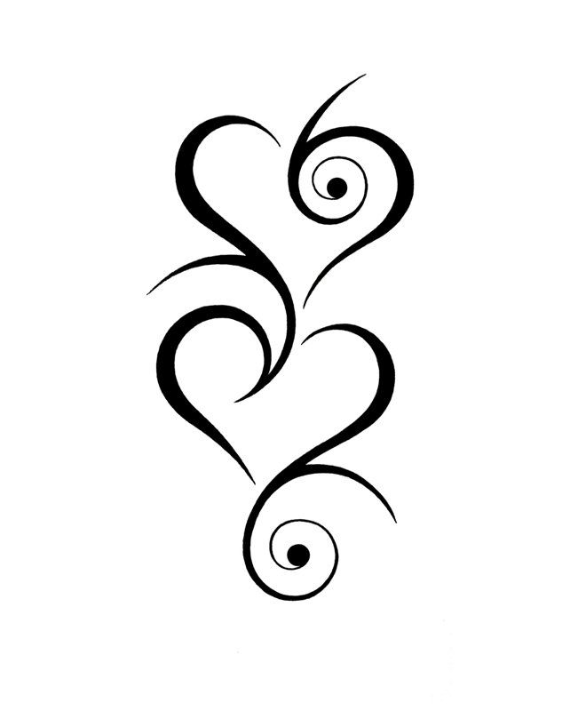 tribal heart tattoos on pinterest heart tattoo designs heart tattoos and small tribal tattoos. Black Bedroom Furniture Sets. Home Design Ideas