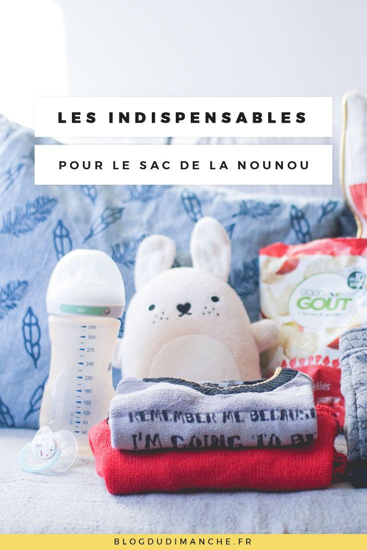 les indispensables glisser dans le sac pour la nounou bebe. Black Bedroom Furniture Sets. Home Design Ideas