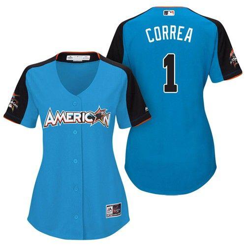 cb02cc794 ... Mens Size Large Womens 2017 MLB All-Star American League Houston Astros  Carlos Correa Majestic Home Run Derby 2017 All Star Game ...