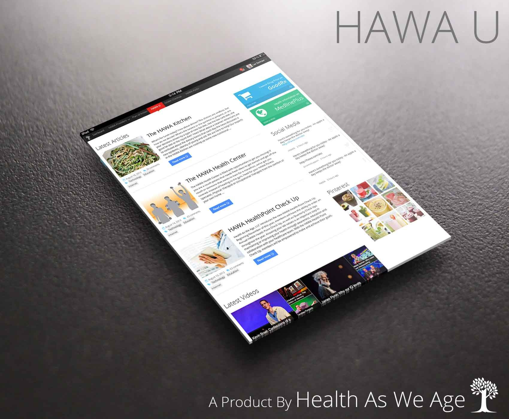 The Hawa Repository Of Health Related Data Including