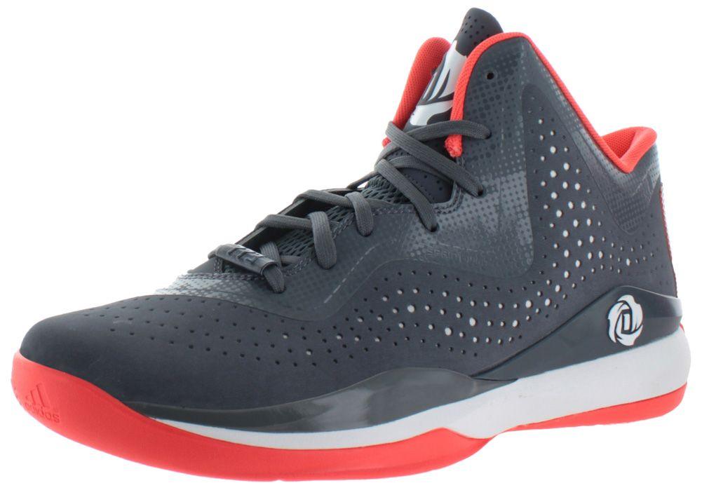Adidas Derrick D Rose 773 III Men's Basketball Sneakers Gray Size 11 -  http:/