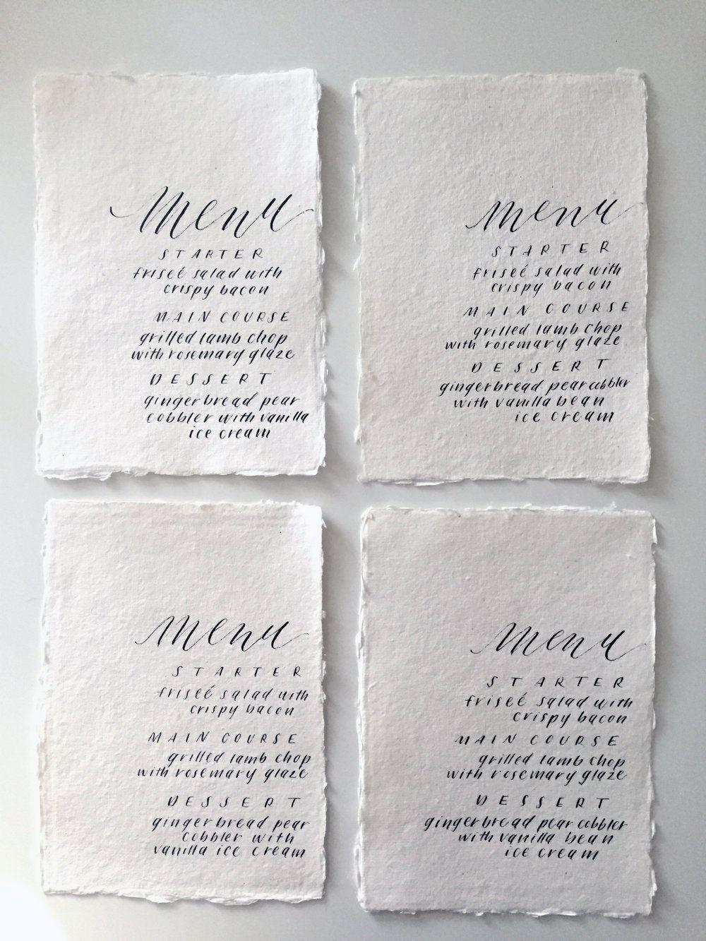 Miranda Writes Modern Calligraphy + Lettering