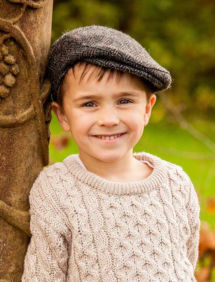 Children s Tweed Flat Cap  1f5759d3a22