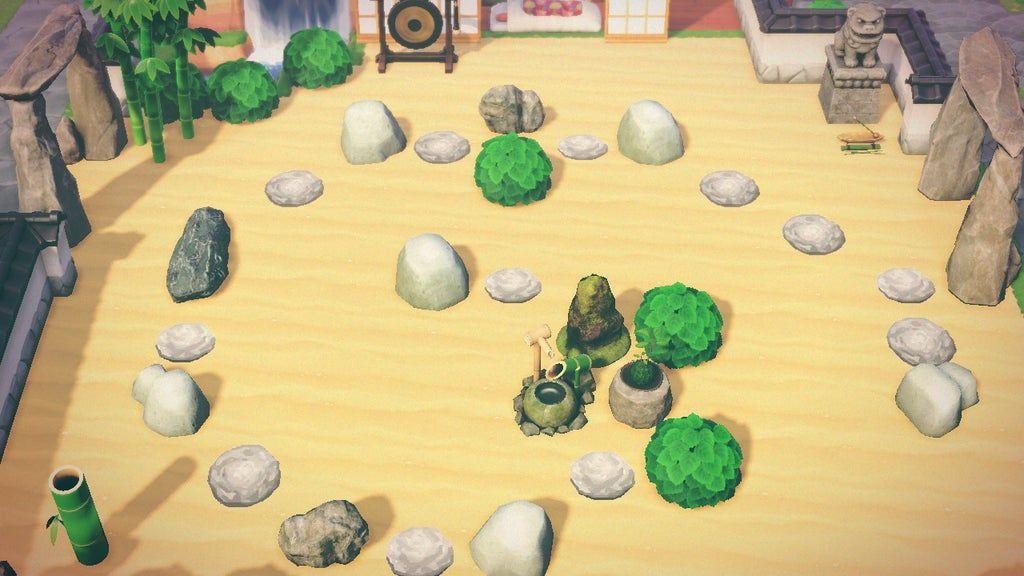 How To Make A Zen Rock Garden Animal Crossing - Garden