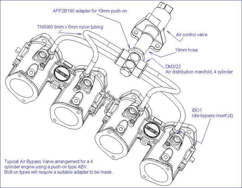 Porsche 944 Generic 4 Cylinder Jenvey Itb Air Bypass Porsche