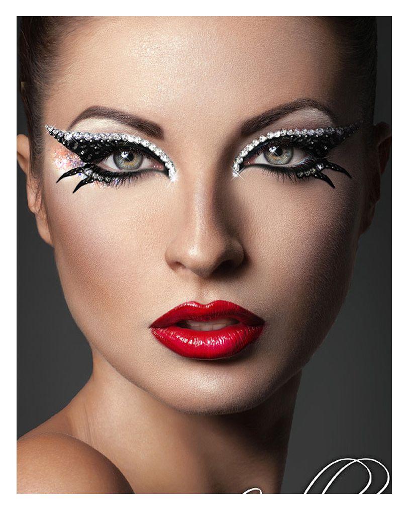 xotic eyes cleopatra schwarz silber beautymakeup eyemakeup fakelashes makeup stunning eye. Black Bedroom Furniture Sets. Home Design Ideas