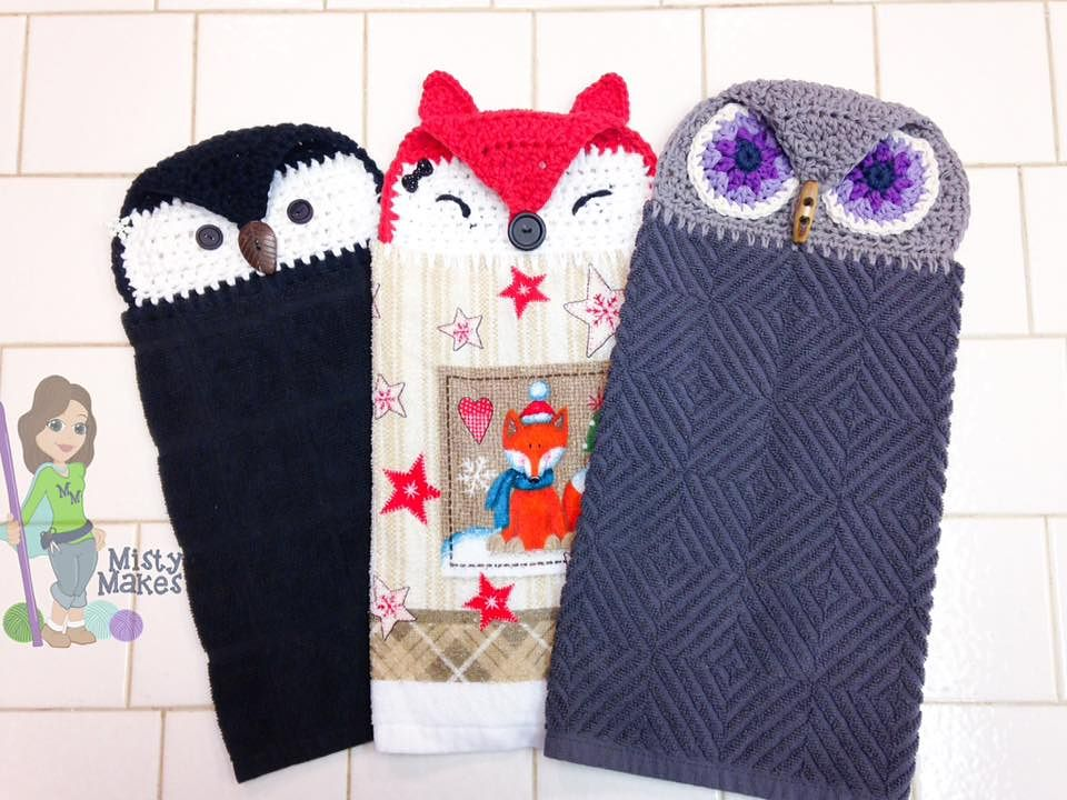 Towel Pals Pattern By Misty Makes Cool Crochet Pinterest
