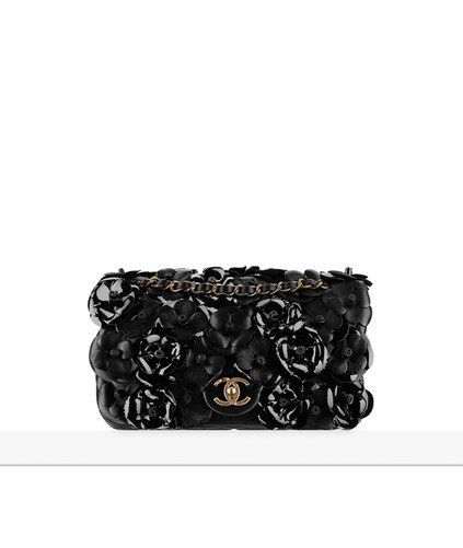 faf3c5bc67 Sacs à main - Pré-Collection Printemps-Été 2015 - CHANEL Chanel Camellia,