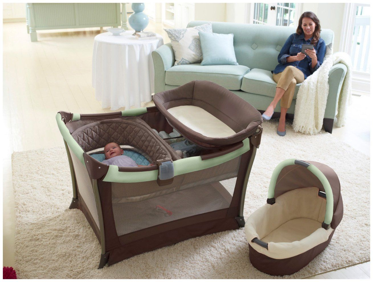 graco bedroom bassinet. graco day2night sleep system - bedroom bassinet \u0026 pack \u0027n play playard ardmore g