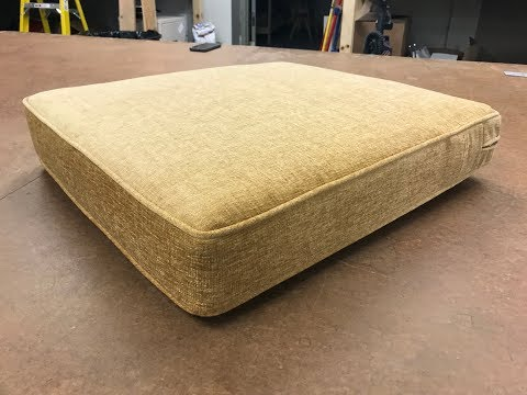Boxed And Welted Cushion Youtube Couch Cusion Sewing Tutorial Cushion Cover Designs Cushions Diy Chair Covers
