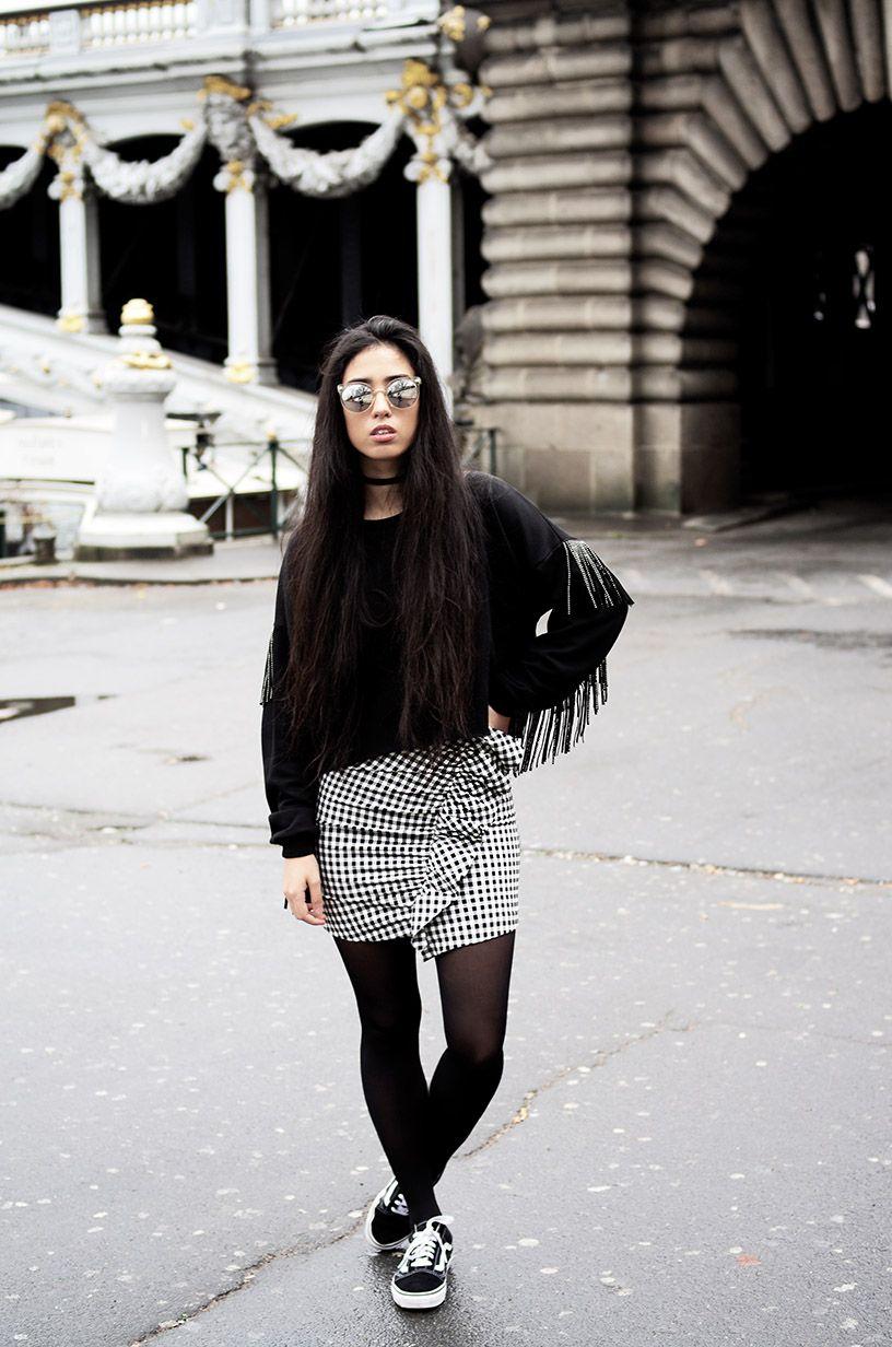 tenue vans noir