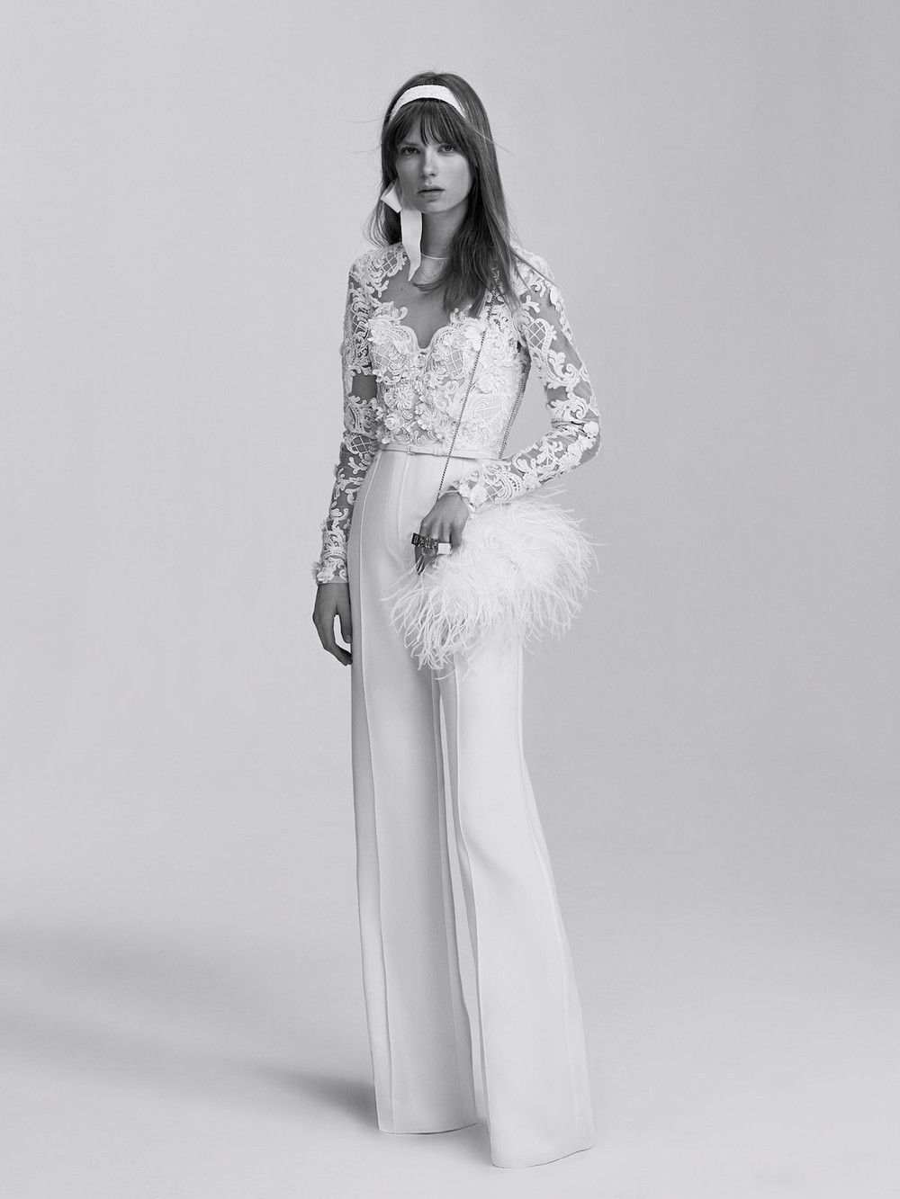 ELIE SAAB Bridal - why not marry in a suit? This one is just fabulous