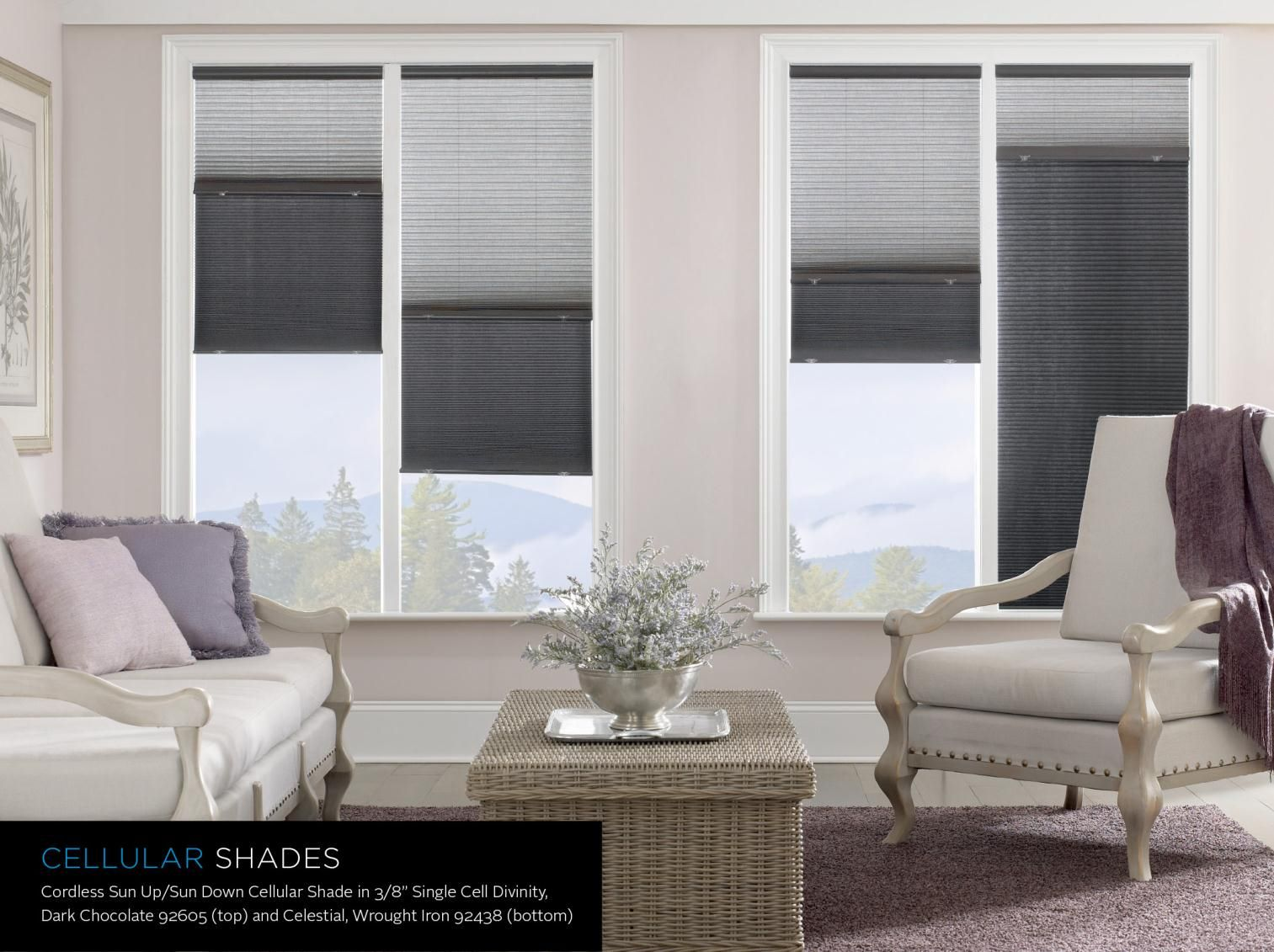 These Signature Series Cellular Shades Offer The Sun Up