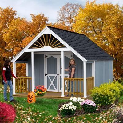 Best Barns Garden Shed 12 ft. x 16 ft. Wood Storage Shed ...