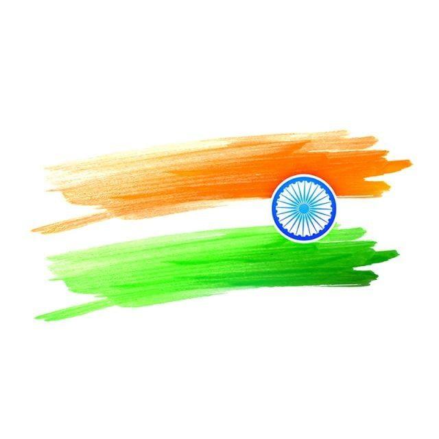 Indische Flagge Design gemacht mit Farbe Farbstriche Flagge von Indien, Flagge, indische Flagge, Flagge von Indien PNG und Vektor mit transparentem Hintergrund zum kostenlosen Download