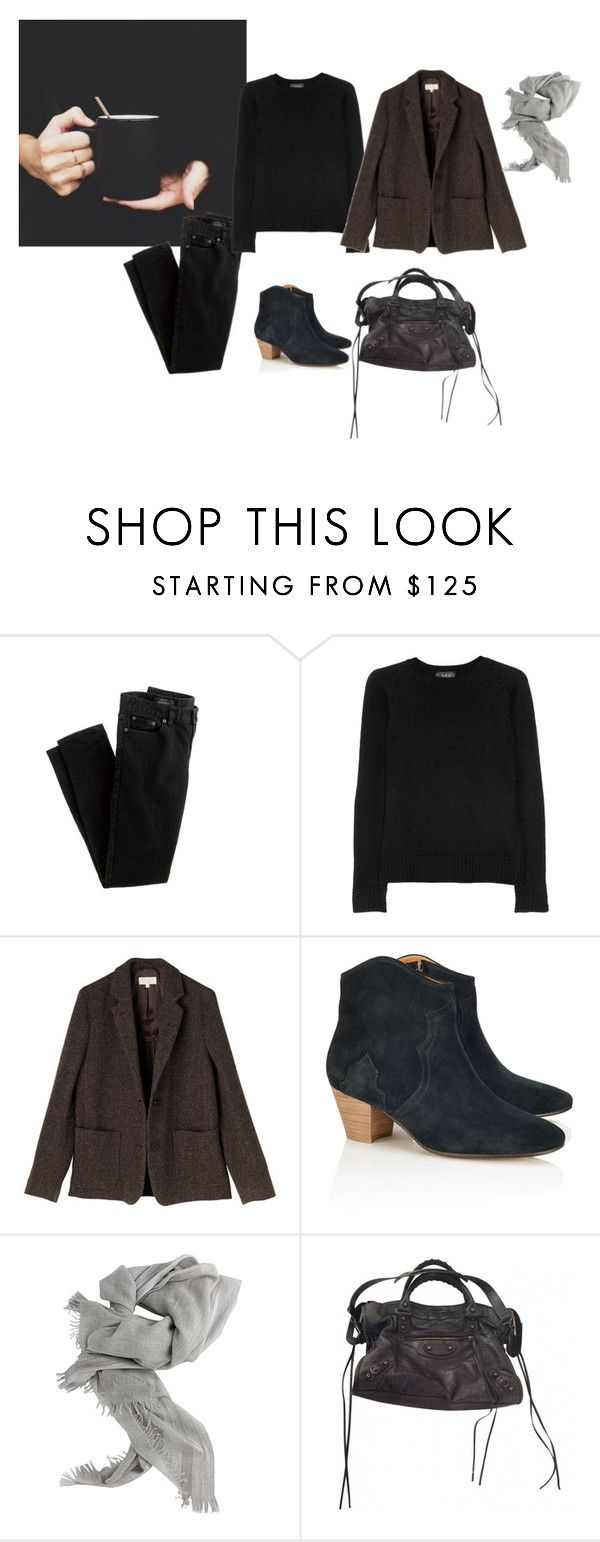 """Brownish"" by trenchcoatandcoffee ❤ liked on Polyvore featuring J.Crew, A.P.C., Toast, Étoile Isabel Marant, Brunello Cucinelli and Balenciaga"