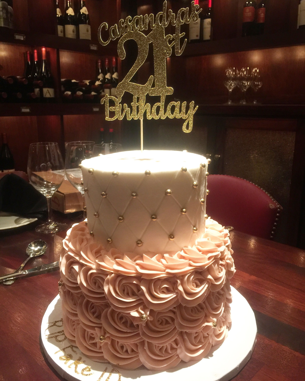 My 21st Birthday Cake Bolo De Festa Simples Bolo De Festa