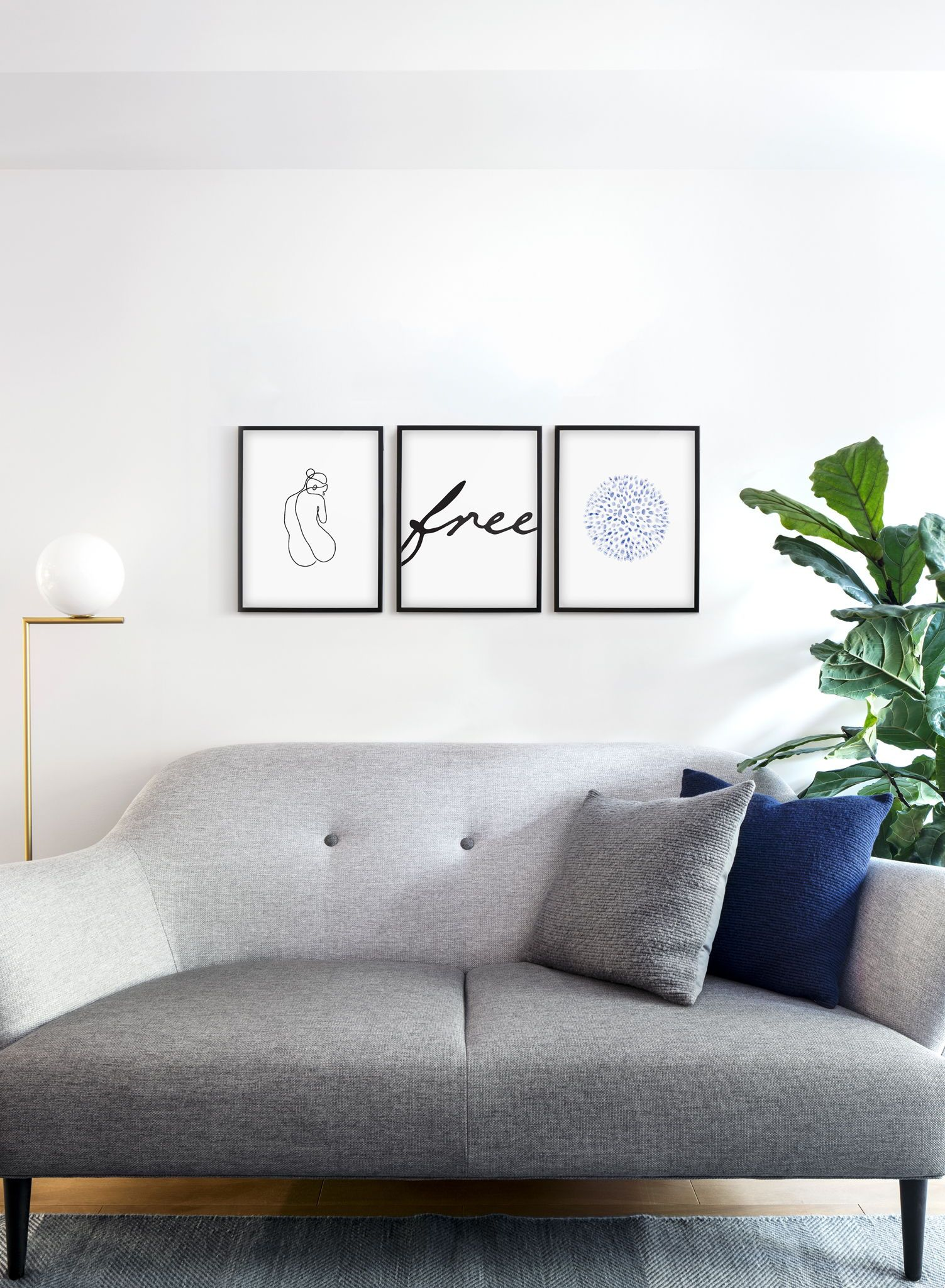 combine fine line drawing graphic art with blue hues and modern rh pinterest com