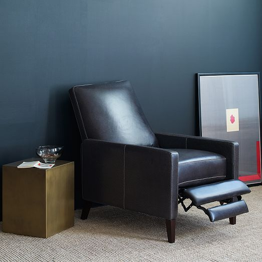 Sedgwick Leather Recliner Recliner Home Decor