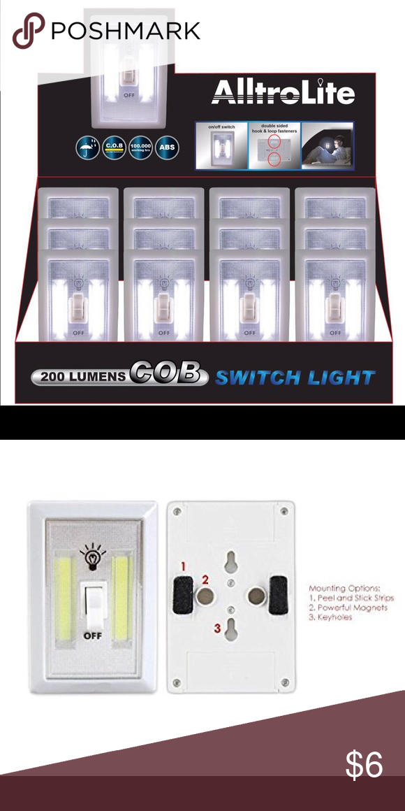 Brand New Led Light Switch Battery Included Led Light Switch Light Switch Led Lights