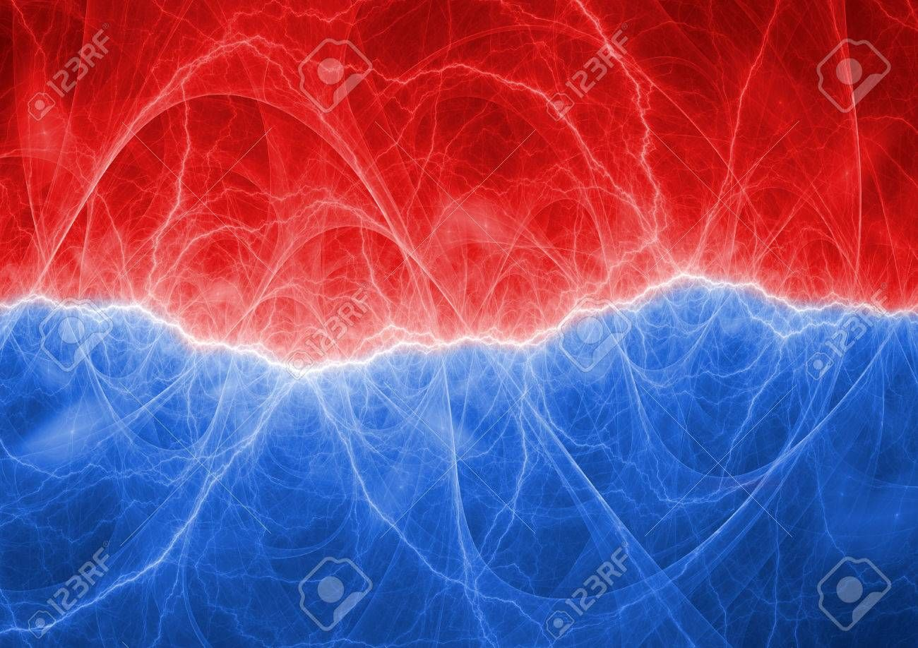 Red And Blue Abstract Lightning Background Affiliate Blue