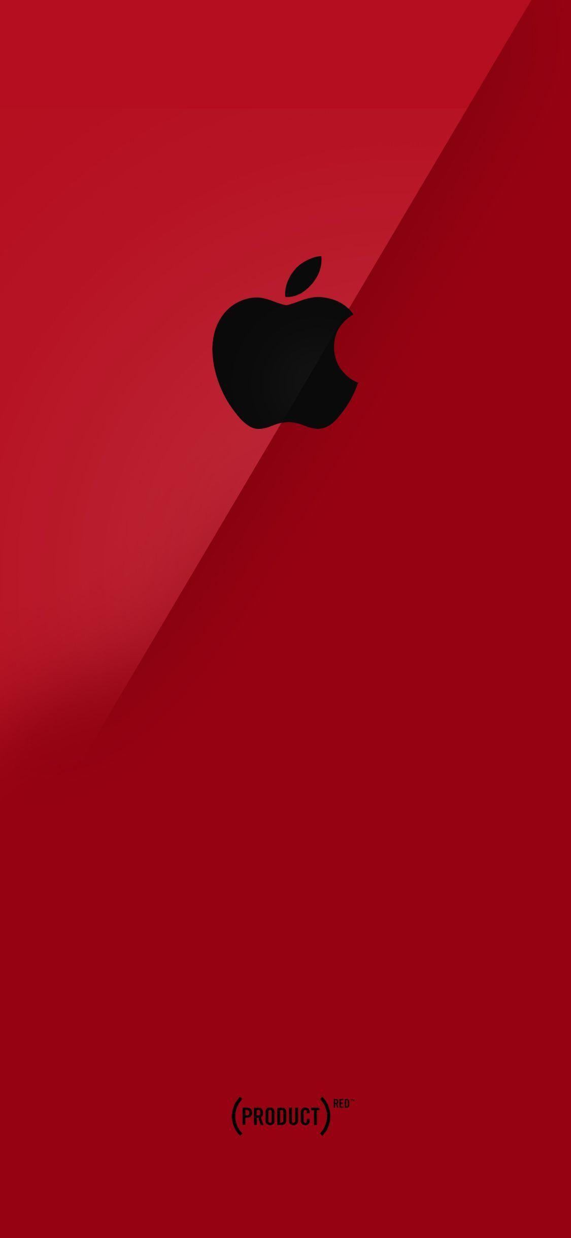 Black With Red Trim Apple On Black Wallpaper Apple Logo Wallpaper Iphone Apple Wallpaper Iphone Apple Wallpaper