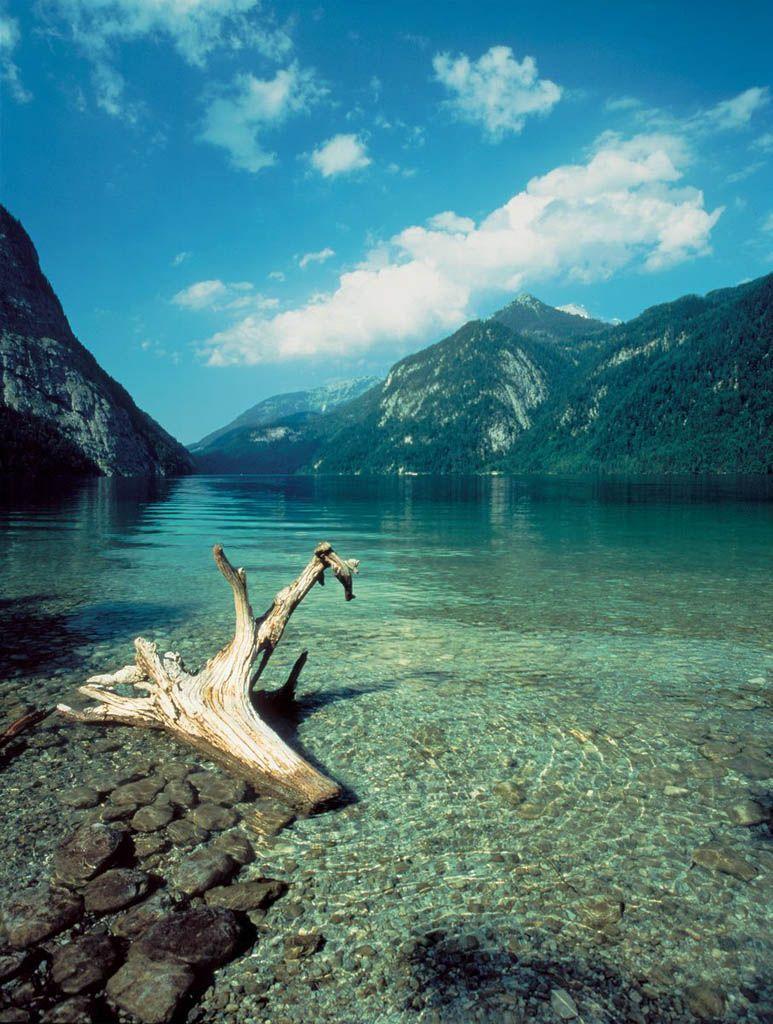 Nationalpark Berchtesgaden: het heldere water van de ...