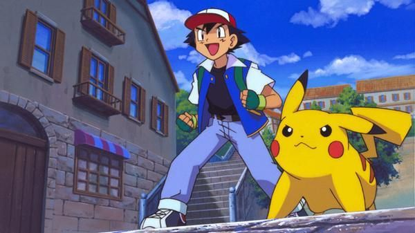 Hernandez, P, 2011 Ash and Pikachu, ready for battle! Town picture to help with the design of buildings