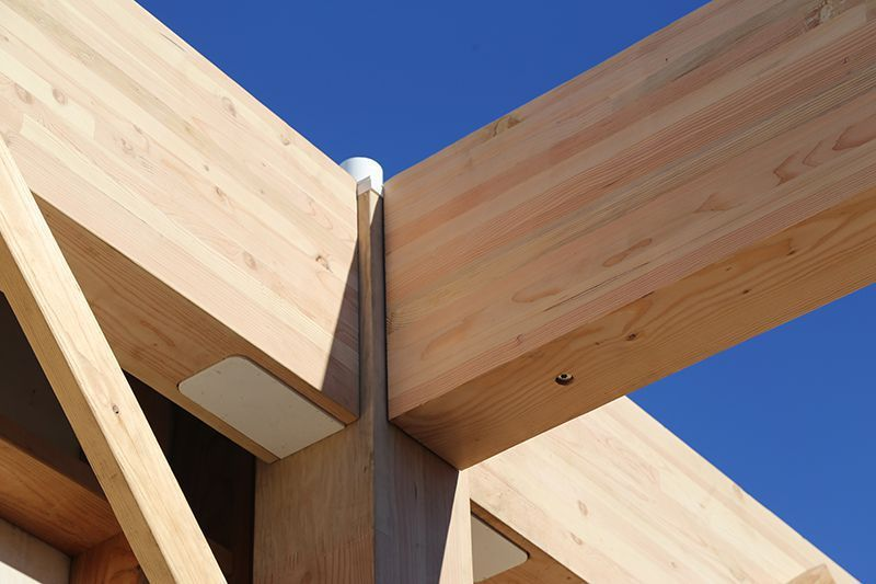 Cross Laminated Timber Could Lead A Mid Rise Revolution A Clt Column Beam Connection Timber Architecture Timber Wood