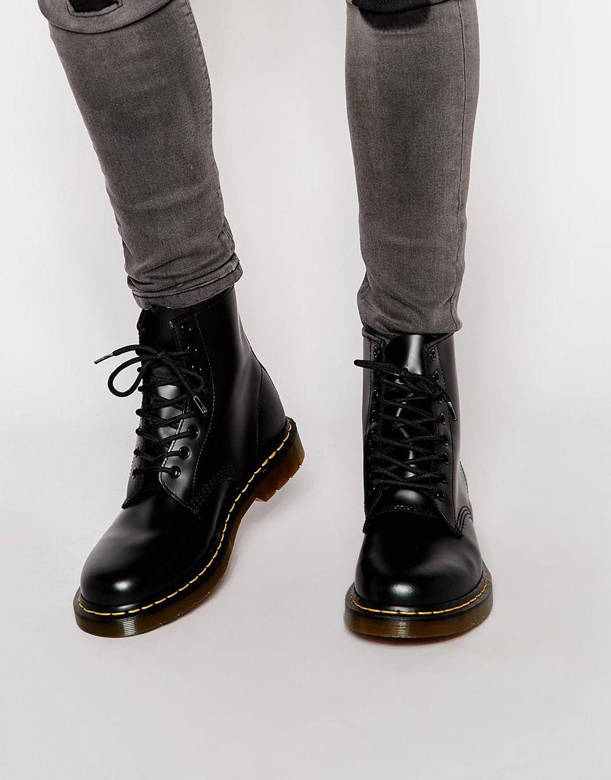 doc martens boots mens black