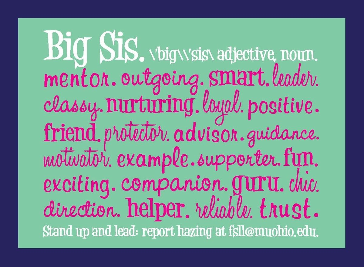 Sorority big sister quotes