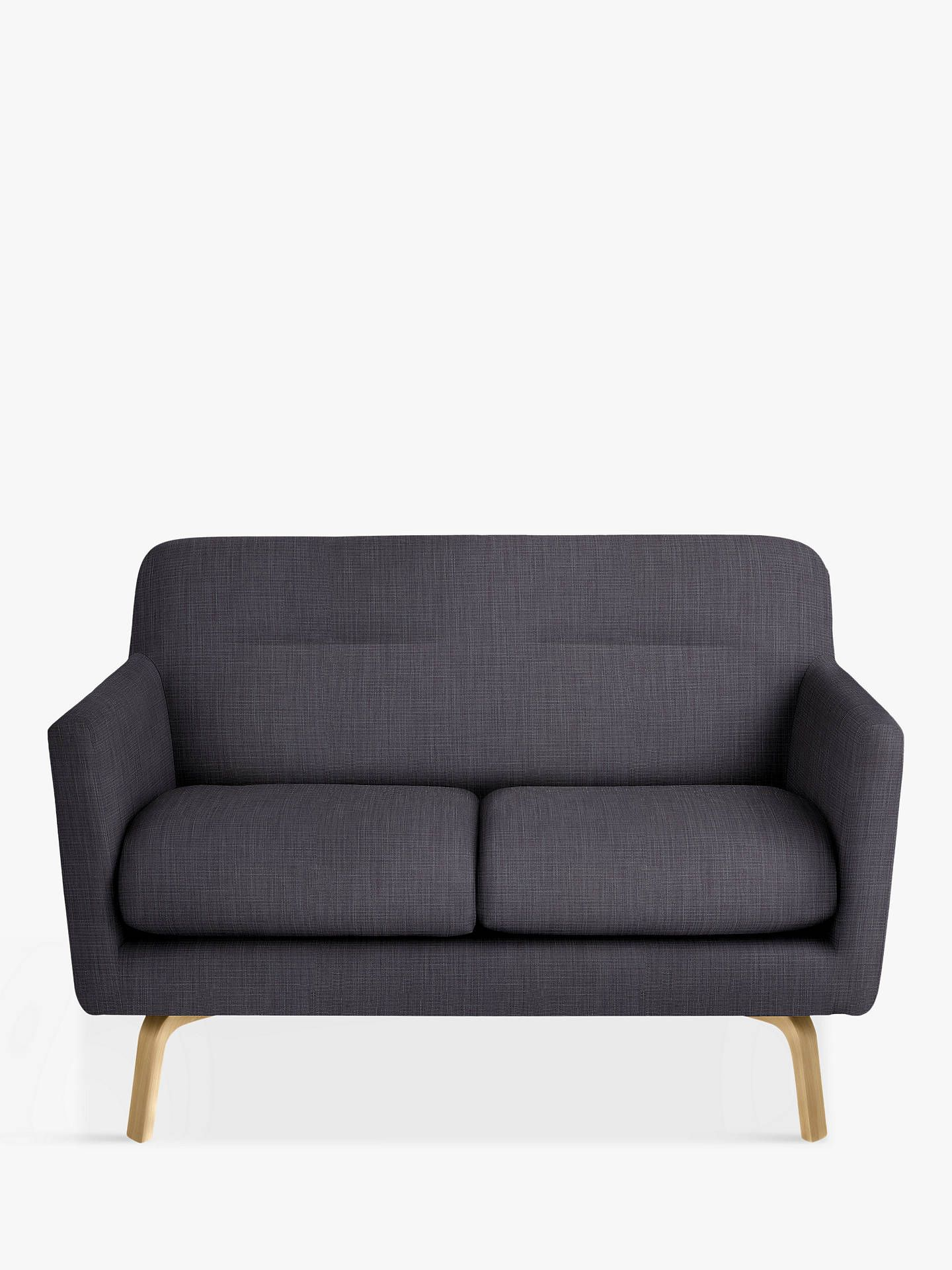 house by john lewis archie small 2 seater sofa glyn charcoal rh pinterest com