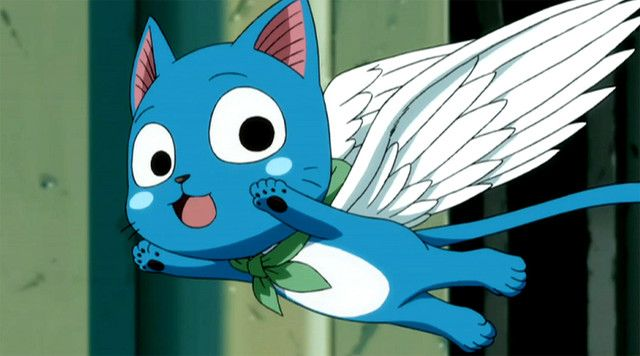 Crunchyroll Happy Flying Fairy Tail Cat Fairy Tail Happy