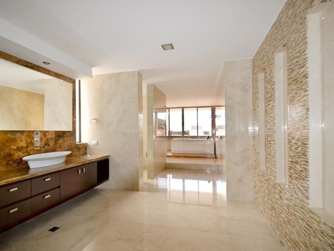 Apartamento en Santa Bárbara - Baño de la habitación principal