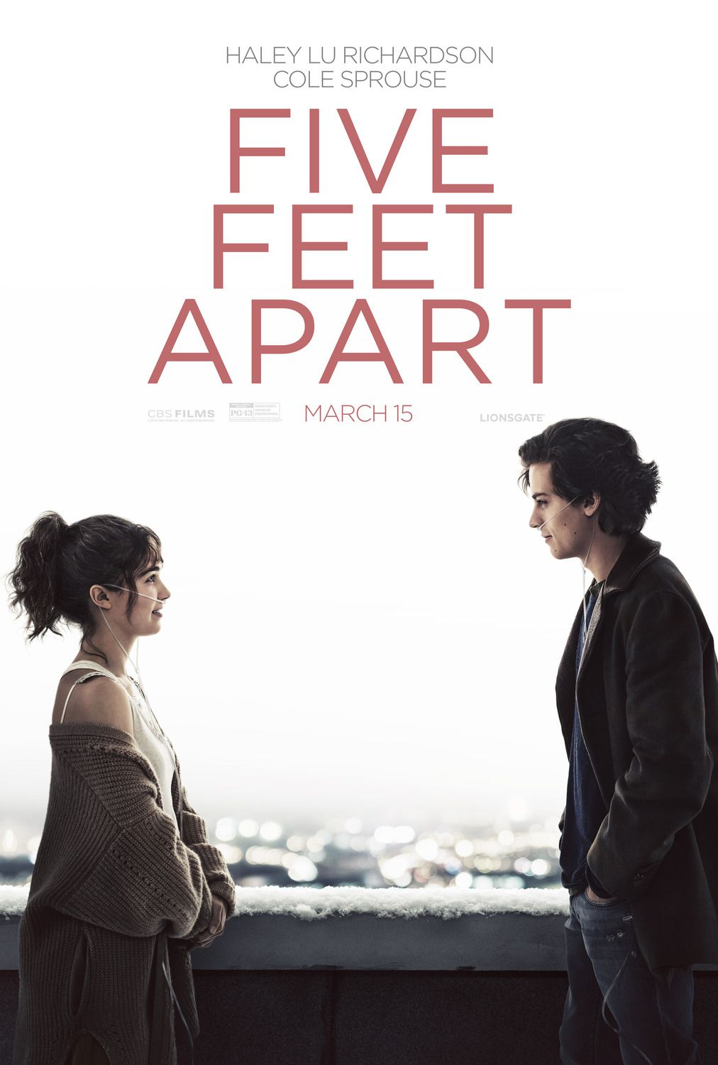 Return To The Main Poster Page For Five Feet Apart 5 Of 5 Romantic Films Romantic Movies Movies To Watch Teenagers