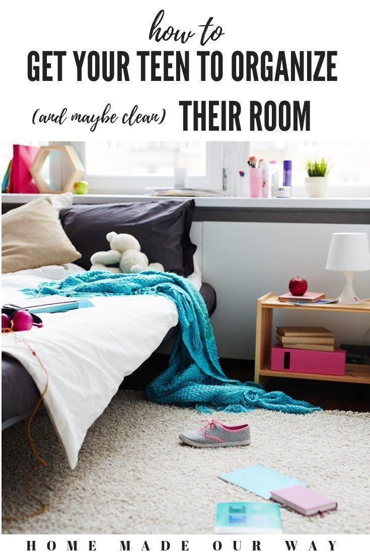 How to Get Your Teen to Organize (And Maybe Clean) Their Room images