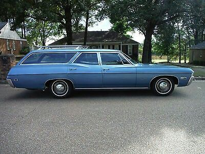 1968 chevy impala station wagon drove one of these way back when rh pinterest com  chevrolet caprice station wagon a vendre