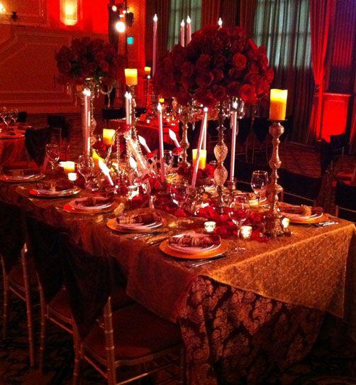 David Tutera Weddings Ideas: Phantom Of The Opera Theme