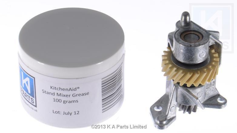 240309 2g kitchenaid 23 teeth worm gear in bracket 100g of grease rh pinterest com